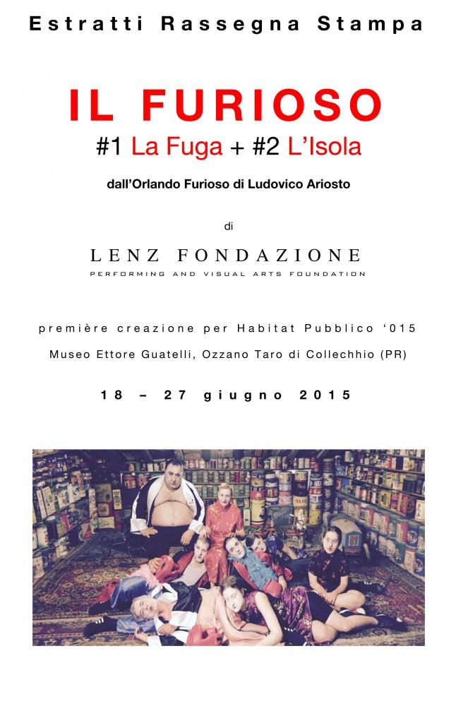 Microsoft Word - IL FURIOSO Rassegna Stampa .doc